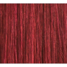 "18"" Deluxe DIY Weft (Clips Not Attached) Human Hair Extensions #530 Deep Burgundy"