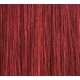 "20"" Deluxe Double Wefted Clip In Human Hair Extensions #530 Deep Burgundy"