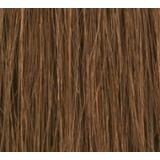 "16"" Clip In Human Hair Extensions FULL HEAD #6 Medium Brown"