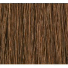 "18"" Clip In Human Hair Extensions FULL HEAD #6 Medium Brown"
