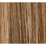 "24"" Clip In Human Hair Extensions FULL HEAD #6/613 Medium Brown / Blonde Highlights"