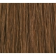 "16"" DIY Weft (Clips Not Attached) Human Hair Extensions #6 Medium Brown"