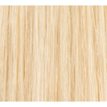 "14"" Deluxe Double Wefted Full Head Clip In Human Hair Extensions #60 Lightest Blonde"