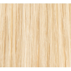 """20"""" Clip In Human Hair Extensions FULL HEAD #60 Lightest Blonde"""