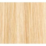 """12"""" Clip In Human Hair Extensions FULL HEAD #613 Bleach Blonde"""