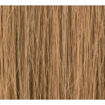 "16"" DIY Weft (Clips Not Attached) Human Hair Extensions #8 Light Brown"
