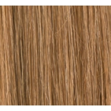 "18"" Clip In Human Hair Extensions FULL HEAD #8/27 Light Brown/ Caramel"