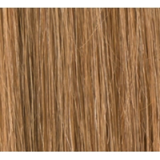 "20"" Clip In Human Hair Extensions FULL HEAD #8/27 Light Brown/ Caramel Mix"