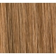 "18"" Deluxe DIY Weft (Clips Not Attached) Human Hair Extensions #8/27 Light Brown/Caramel Blonde"