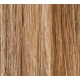 "20"" Clip In Human Hair Extensions FULL HEAD #8/613 Light Brown/ Bleach Blonde Mix"