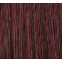 "15"" Deluxe Double Wefted Clip In Human Hair Extensions #99J Deep Red Wine"