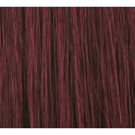 "18"" Deluxe Double Wefted Clip In Human Hair Extensions #99J Deep Red Wine"