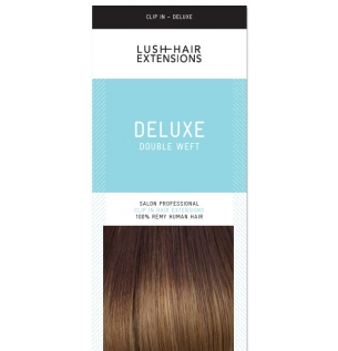 Lush hair extensions uk remy human hair extensions deluxe double wefted clip in hair extensions pmusecretfo Gallery