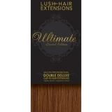 "18"" Clip In Human Hair Extensions ULTIMATE FULL HEAD #33 Dark Auburn"