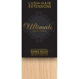"16"" Clip In Human Hair Extensions ULTIMATE FULL HEAD #60 Lightest Blonde"