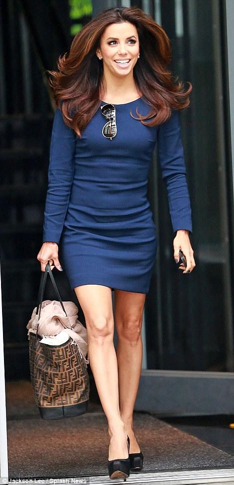 Eva Longoria Hair Extensions 17