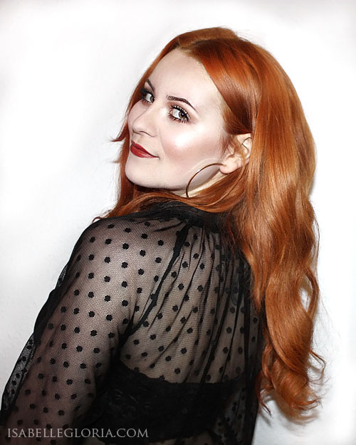 Guest blog isabelle gets red y with lush hair extensions pmusecretfo Images