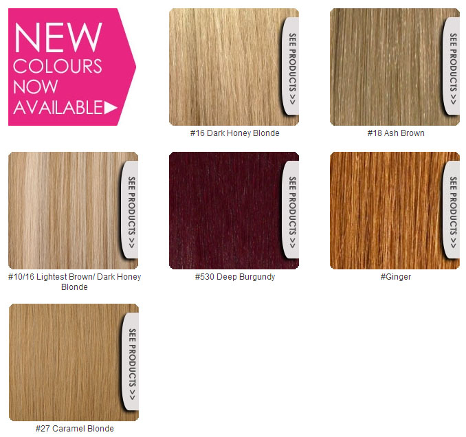 Lush Hair Extensions New Colours