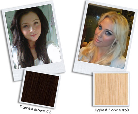 Colour match all you need to do is send us a photo of yourself lush hair extension solutioingenieria Choice Image